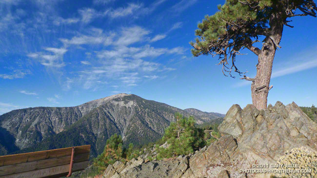 Mt. Baden-Powell from Inspiration Point