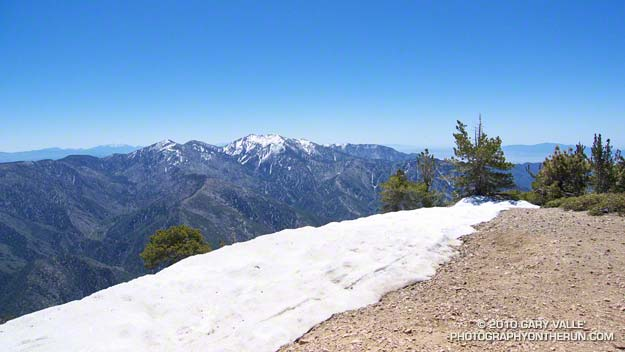 Mt. Baldy from the summit of Mt. Baden-Powell
