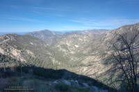 Bear Canyon from above Tom Sloan Saddle