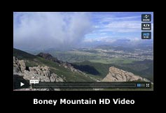 HD video snapshot from Boney Mountain