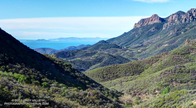 Santa Monica Mountains near Circle X