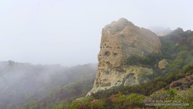 Eagle Rock in Topanga State Park