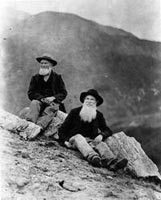 Jason and Owen Brown (1884). Photo: Los Angeles Public LIbrary