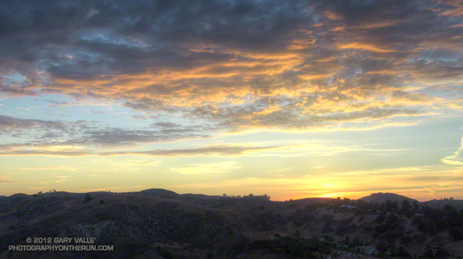 Las Virgenes Canyon sunrise