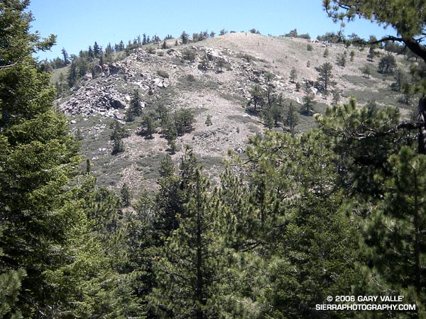 Mt. Pinos from the Vincent Tumamait Trail