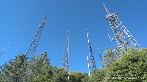 Antenna farm on Mt. Wilson