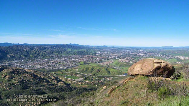 View from Simi Valley to the Sea