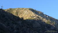 Slopes at the head of Stone Canyon on Mt. Lukens.