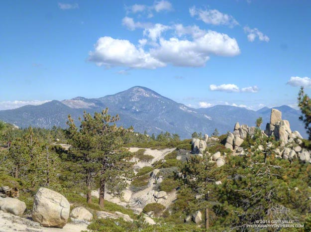 Sugarloaf Mountain from the Skyline Trail near Big Bear Lake