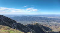 View from Mt. Lukens of the Crescenta Valley, the Verdugo Mountains and beyond.