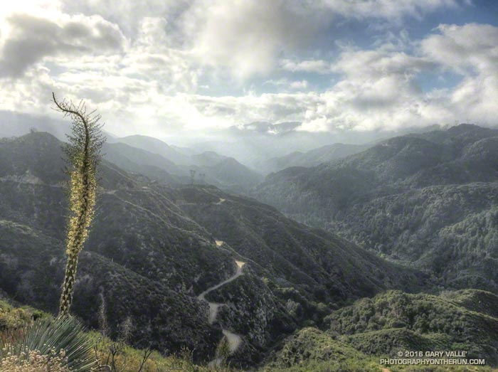 Canyon of the West Fork San Gabriel River