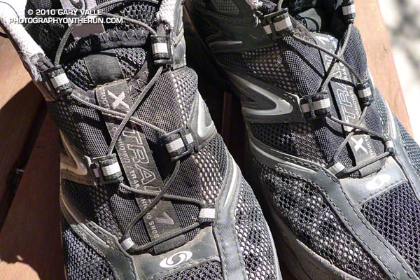 Speed-lacing system on the Salomon XT Hawk 2.